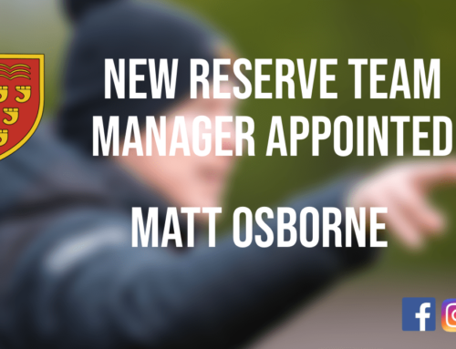 Matt Osborne appointed as the new Reserve Team Manager