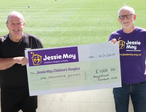 Keynsham Town Walking Football donate £2000 to local causes