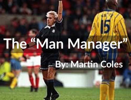 "Referee ""a man manager"""