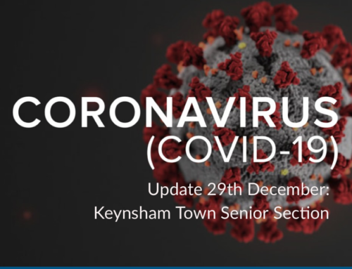 Senior Club Covid Update: December 29
