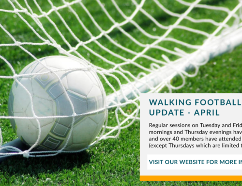 Walking Football Update -April 2021