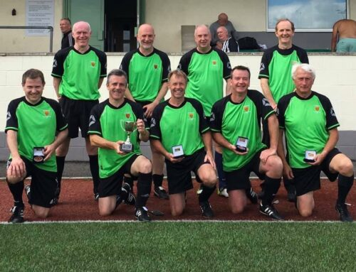 Keynsham Town Walking Football win Somerset County Over 50s League