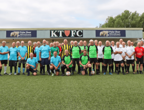 Keynsham Town Walking Football tournaments July and August for Over 60s, 65s and Over 70s.