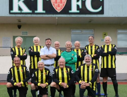 Parkwall Pre-School provide new kit for our Walking Football Over 60s
